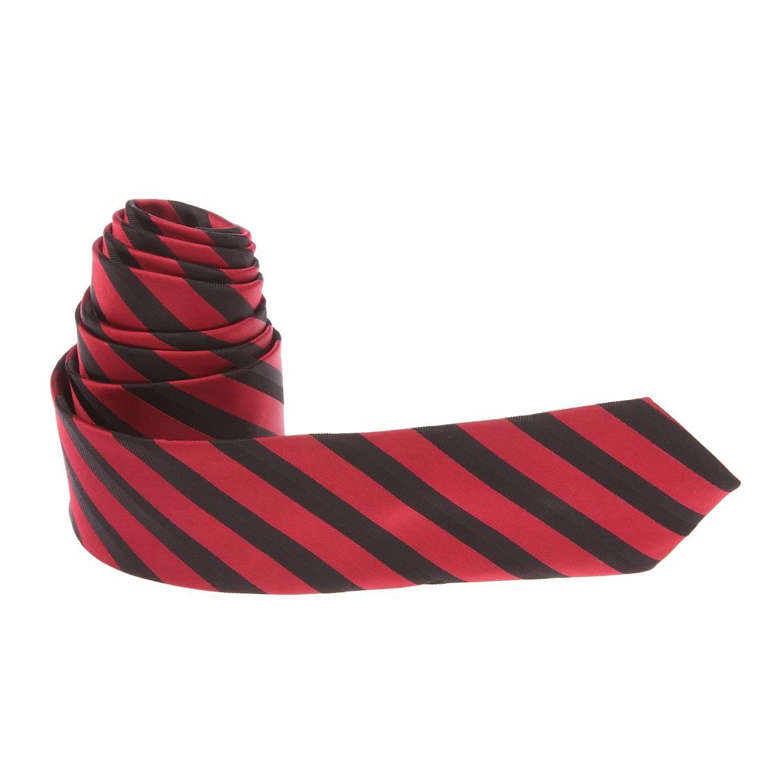 cravate-a-rayures-obliques-rouges-et-noires