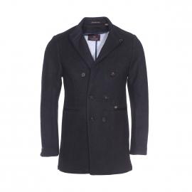 Manteau Scotch & Soda en laine noire