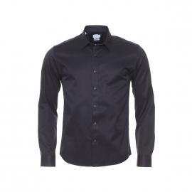 Chemise ajustée Selected 100% en coton noir