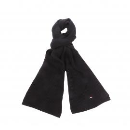Echarpe Tommy Hilfiger en coton pima et cachemire noir