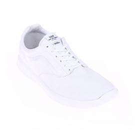 Baskets Vans ISO 1.5 en toile blanche à broderies satinées et à semelles blanches