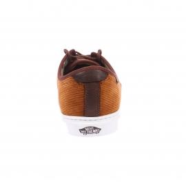 Baskets Ludlow Vans en cuir marron à empiècements velours
