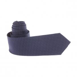 Cravate slim Antony Morato en soie bleu marine à motifs ronds