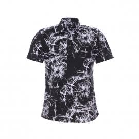 Chemise manches courtes Antony Morato noire à motifs