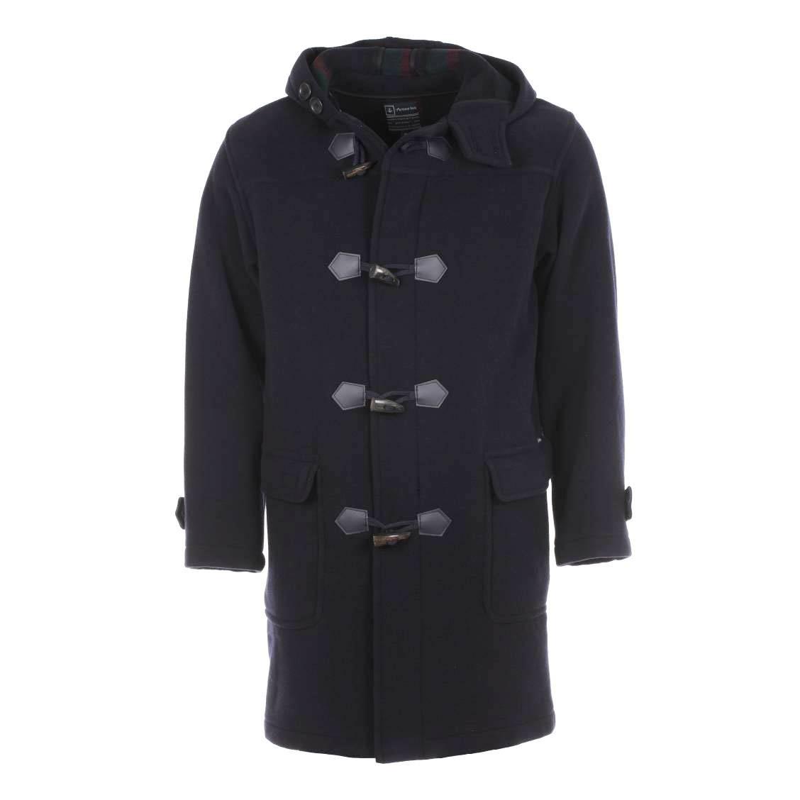 Duffle coat malo  bleu marine
