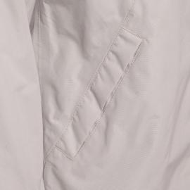 Parka en toile enduite imperméable Holly Bermudes beige