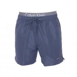 Short de bain Calvin Klein bleu marine à double ceinture