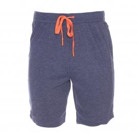 Bermuda Calvin Klein en coton mélangé bleu jean