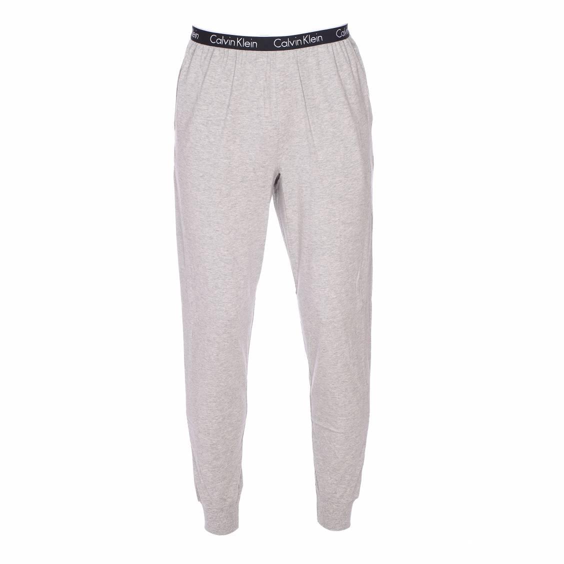 pantalon d 39 int rieur calvin klein en coton stretch gris chin rue des hommes. Black Bedroom Furniture Sets. Home Design Ideas