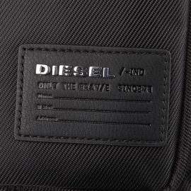 Sacoche zippée Damper Diesel noir satiné, spéciale tablette