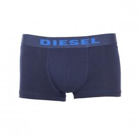 Boxer Hero Fit Diesel en coton stretch respirant bleu marine à bandes bleu électrique à l'arrière