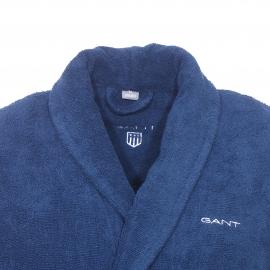 Peignoir de bain Gant en coton éponge bleu marine