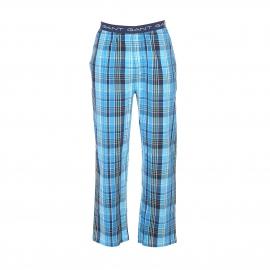 Pantalon d'intérieur Gant en coton à carreaux bleus, verts et blancs