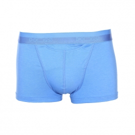 Boxer ouvert HO1 Hom en coton et modal bleu turquoise