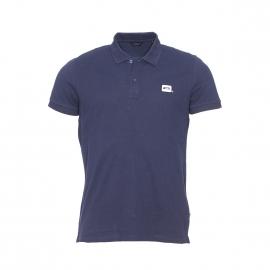 Polo Jack&Jones Core en coton piqué bleu marine