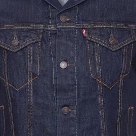 Veste en jean Trucker Levi's bleu foncé