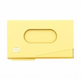 Porte-cartes de visite Ogon One touch doré