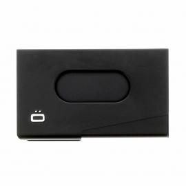 Porte-cartes de visite Ogon One touch noir