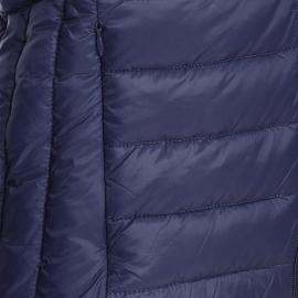 Doudoune matelassée Schott N.Y.C en nylon bleu marine
