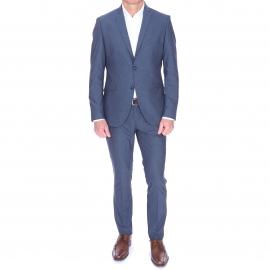 Costume cintré Selected NoxJack bleu grisé