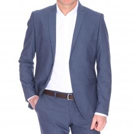 Veste de costume cintrée NoxJack Selected bleu grisé