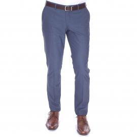 Pantalon de costume NoxJack Selected bleu grisé