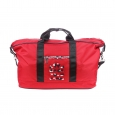 Sac week-end Rugby League Serge Blanco en tissu rouge, logo camouflage
