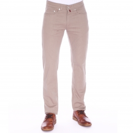 Pantalon droit Pierre Cardin beige