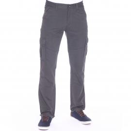 Pantalon cargo Fupcot TBS en toile gris roche