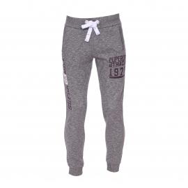Pantalon de jogging Superdry en coton gris