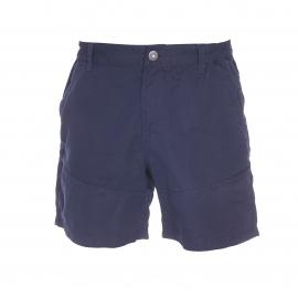 Short Fupsho TBS en toile bleu marine