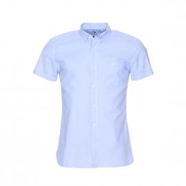 Chemise manches courtes Cricket Teddy Smith en coton bleu ciel
