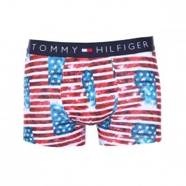 Boxer Tommy Hilfiger à motif drapeau américain patiné