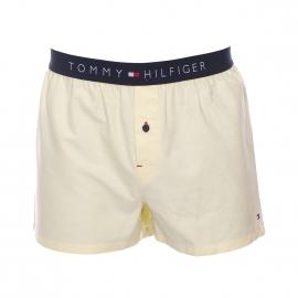Caleçon Tommy Hilfiger en oxford jaune pâle
