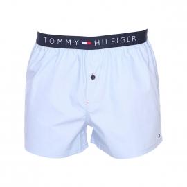 Caleçon Tommy Hilfiger en popeline bleu ciel
