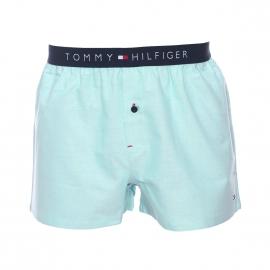 Caleçon Tommy Hilfiger en oxford bleu lagon