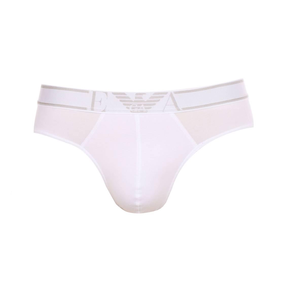 Slip  en coton soft blanc