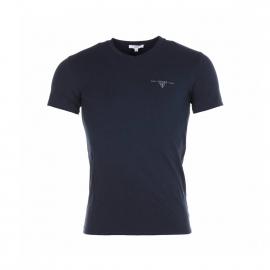 Tee-shirt col V Guess Marine