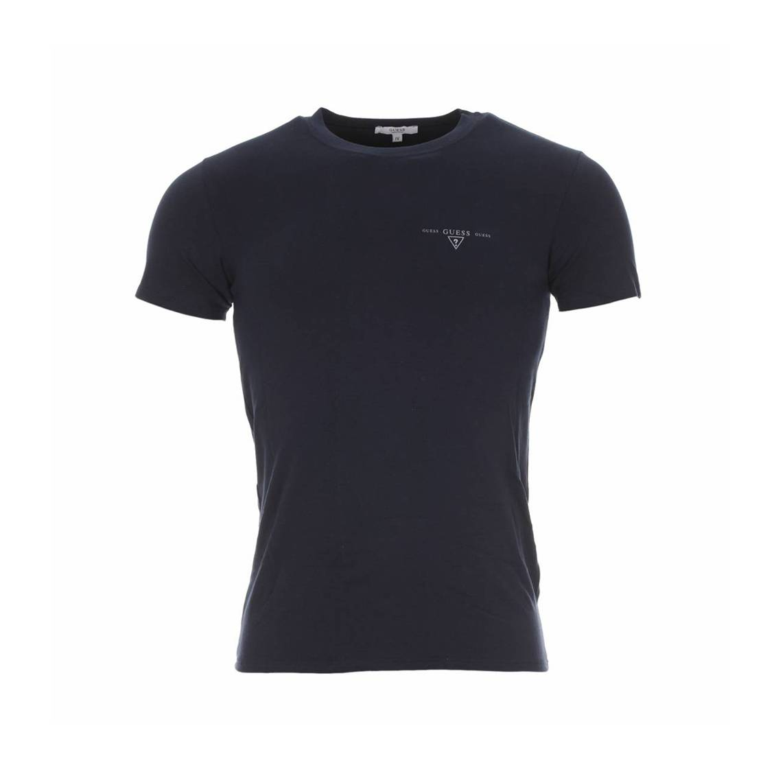 Tee-shirt col rond guess marine