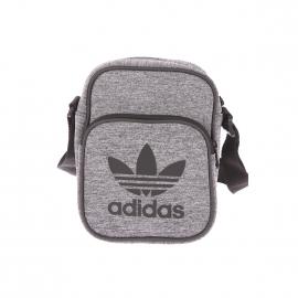 Petite sacoche Adidas gris chiné