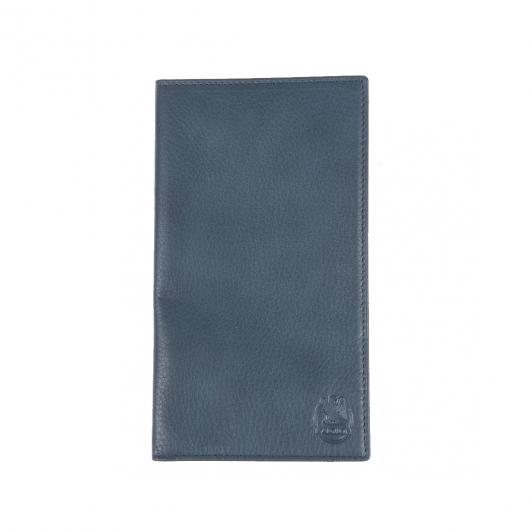 Portefeuille européen ultra plat à 2 volets L'aiglon 22 cartes en cuir grainé noir HXdXBRHTP