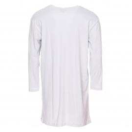 Maxi tee-shirt manches longues Arthur bleu très clair imprimé d'un bison skieur