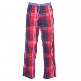 Pantalon d'intérieur Arthur Gaspard à carreaux bleu marine, rouges et bordeaux