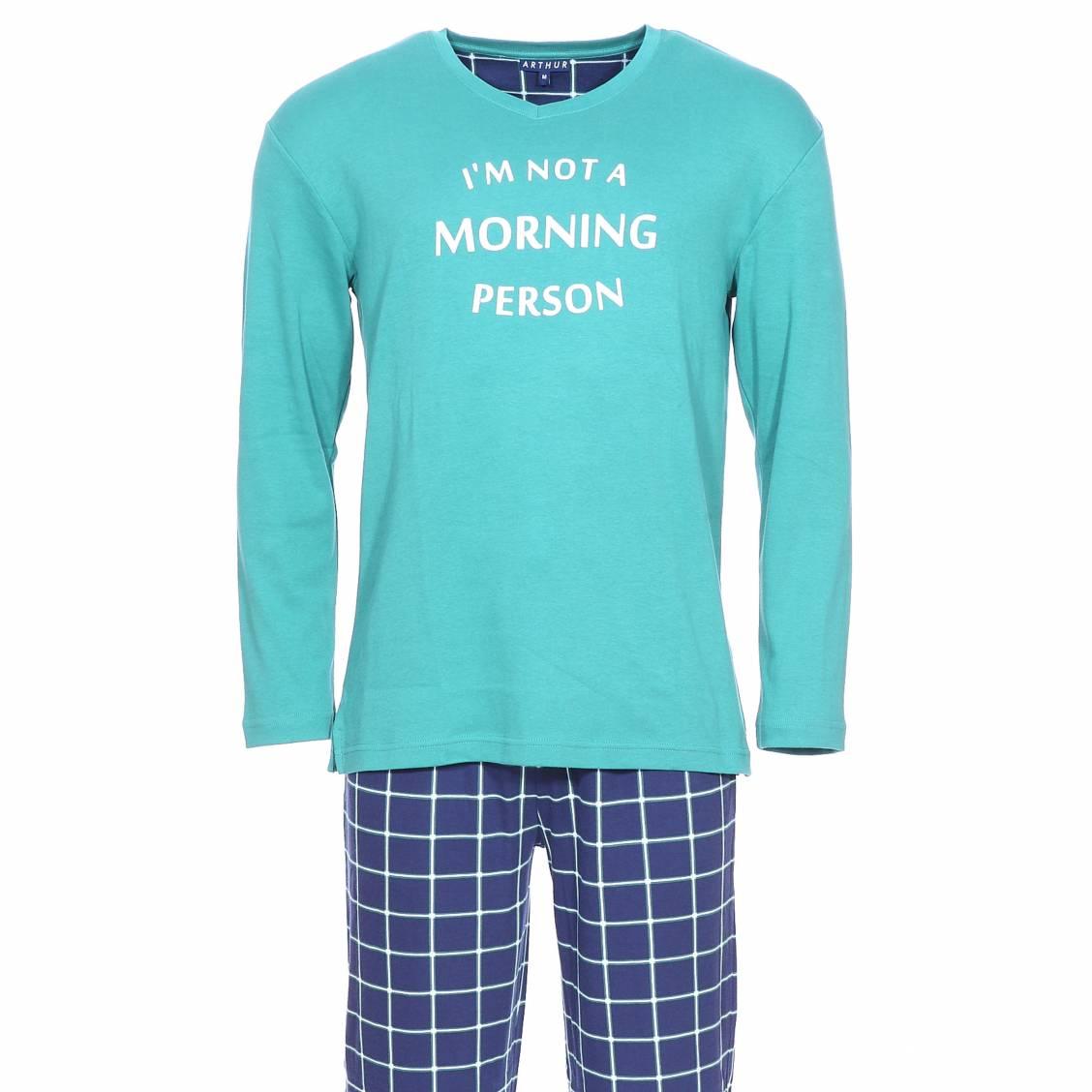 Pyjama chaud arthur oregon tee shirt manches longues for Pyjama homme chaud