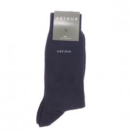 Chaussettes Arthur en coton bleu marine