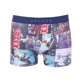 Boxer Arthur à imprimé Chicago