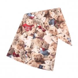 Bonnet de nuit Arthur à imprimé oursons en peluche