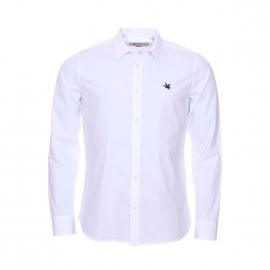 Chemise cintrée Chevignon en coton blanc