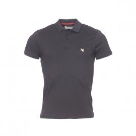 Polo Chevignon en coton pima stretch noir