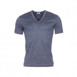 Tee-shirt col V Dolce Gabbana 100% coton effet denim